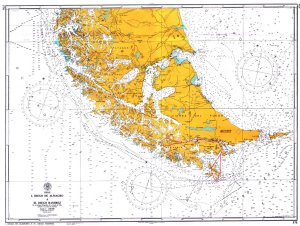 Carte croisiere au Cap Horn