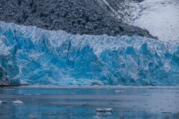 Glacier Pia, Patagonie du Chili