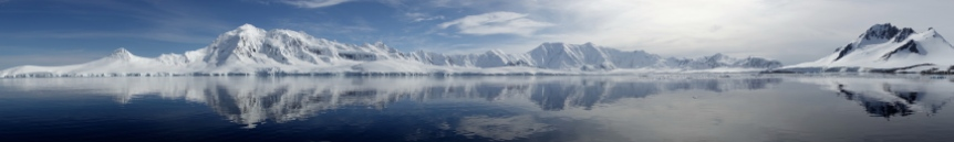 Paysage Antarctique